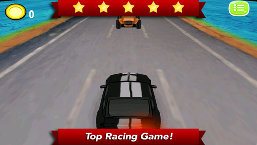 AAA Dies on Traffic Racing 3D PRO - One crazy racer drives to earn the coin with no choice