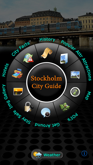 Stockholm Offline Map Travel Guide