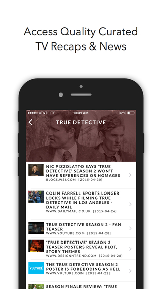 PreviouslyOn TV - Curated Episode Recaps Show News Quality Social Content