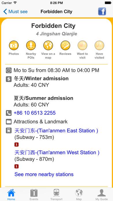 Beijing Travel Guide Offline iPhone Screenshot 5