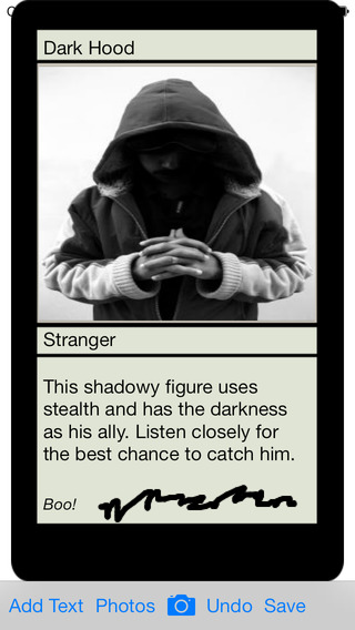 Trading Card Maker on the App Store