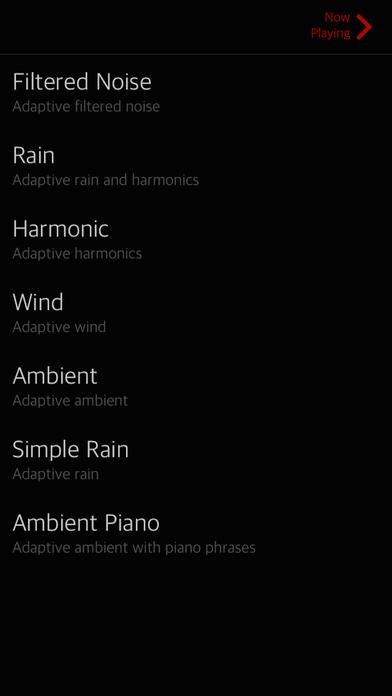 SoundCurtain iPhone Screenshot 2