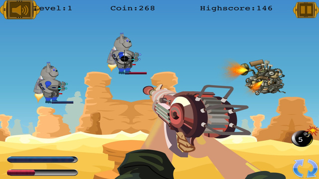 Space Guardians of Time: Robot Cowboys Shooter- Free