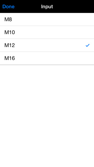 Adhesive Volume Calculator iPhone Screenshot 5