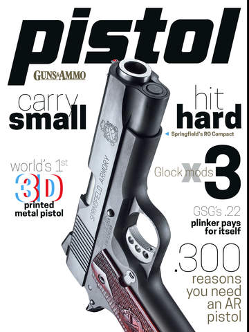 Pistol from Guns Ammo Magazine