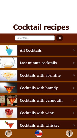 Cocktail recipes Free - best cocktails and drinks from alcohol