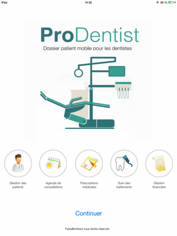 ProDentist gestion de cabinet dentaire