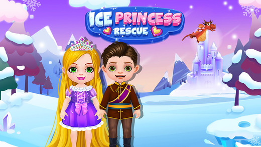 Ice Princess Warrior - Brave Love Story Dragon Rescue Adventure