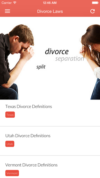 Divorce in U.S.- Divorce Laws of the Fifty States District of Columbia