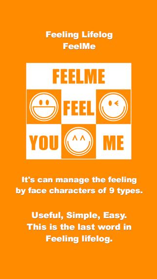 feelme Your feelings life log. everyone's feelings diary memo note application