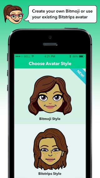 Bitmoji Keyboard - Your Avatar Emoji