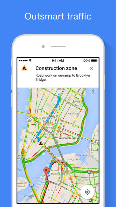 Google Maps - iPhone Mobile Analytics and App Store Data