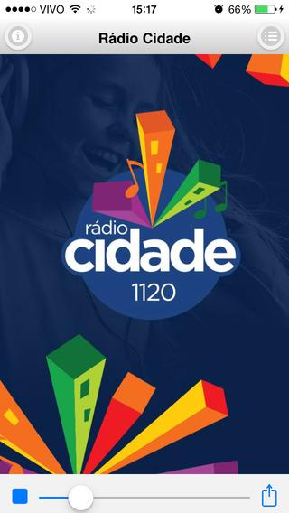 Rádio Cidade AM 1120 São José dos Campos Brasil