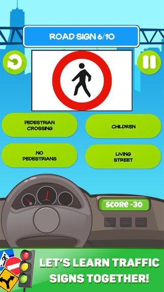 Traffic Signs Proficiency Test