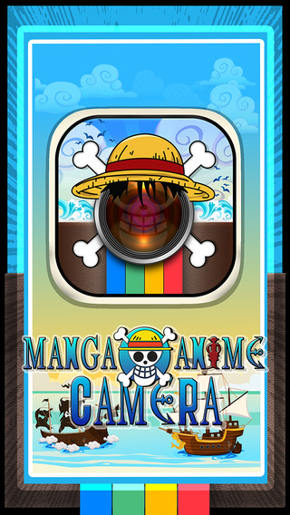 CamCCM – Manga Anime One Piece Sticker Camera : Photo Booth Dress Up in Style
