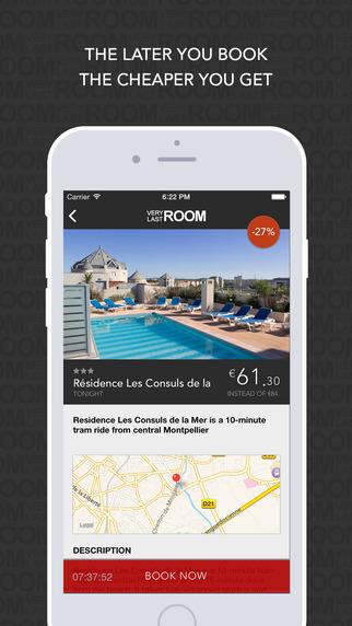 VeryLastRoom Last-minute hotel deals