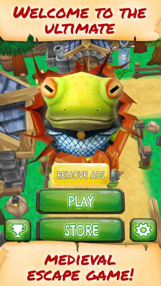 Knight Frog Run Havoc - FREE - Fantasy Medieval Town Endless Runner Game
