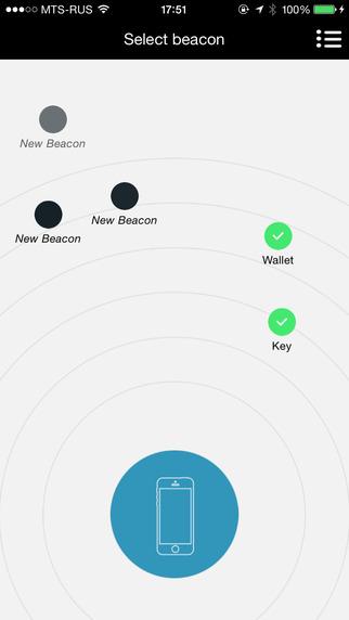 Beacons Tracker