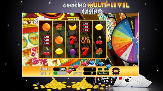 Pharaohs Land of Slots with Blackjack Bonus and Prize Wheel