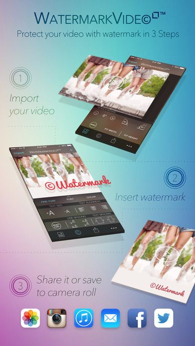 how to make your own watermark logo