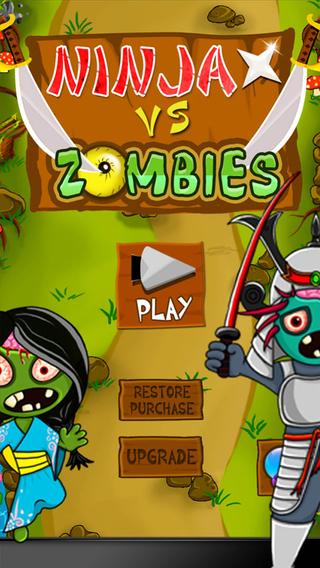 Ninja vs the scary Zombies 2015