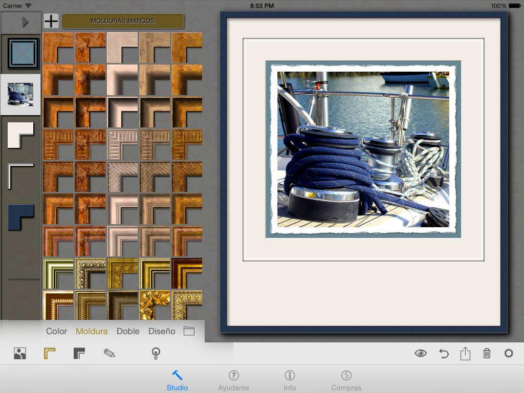 Rahmen für Fotos und Grafiken 'Frame Builder\' (Universal) | Rossau