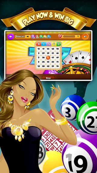 Las Vegas Classic Bingo - Hit The Casino For The Winning Bonus Pro