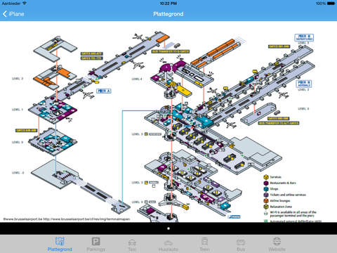 iPlane - Gran Canaria Airport iPad Screenshot 2