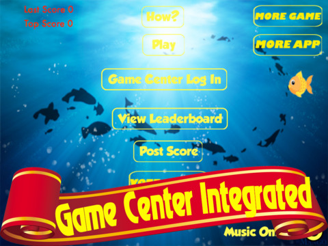 Big Fish Small Fish PRO - Move fast to avoid Hungry Sharks and Blue Monstersscreeshot 2
