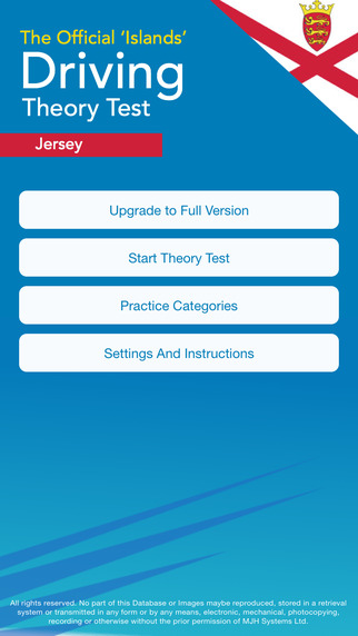 Official Jersey Theory Test Suit