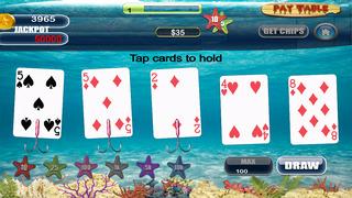 Screenshot 1 Туз Мега Рыба Звездой Покера — игры в карты на двоих казино гранд