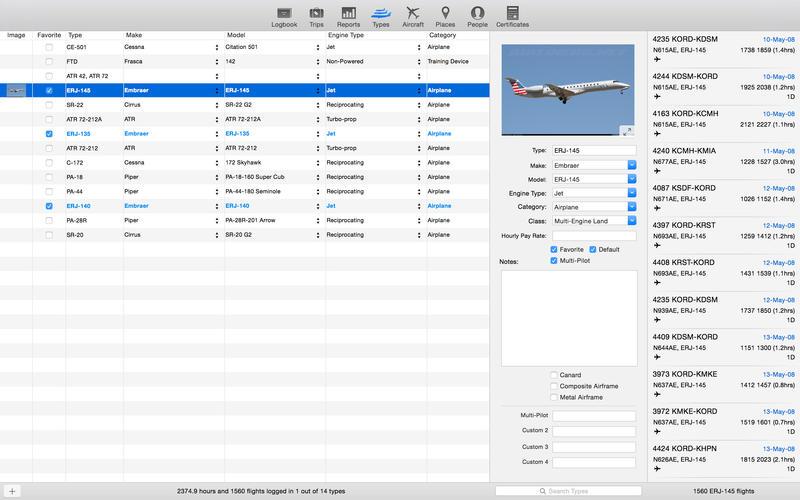 LogTen Pro X Screenshot - 3