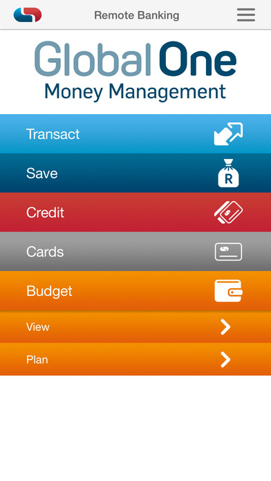 Screenshots of Capitec Remote Banking for iPhone