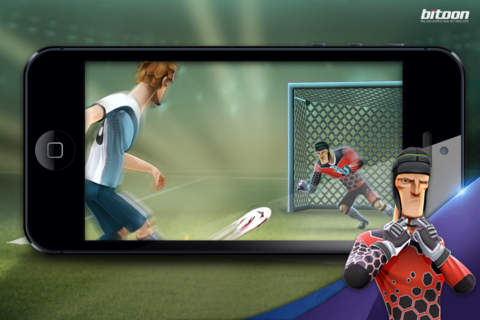 Penalties and Soccer– Player or Goalie? Kicks! Football Warriors screenshot 4
