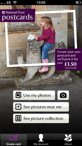 National Trust Postcards