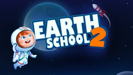 Earth School 2 - Space Explorer Star Discovery and Dinosaur games for kids