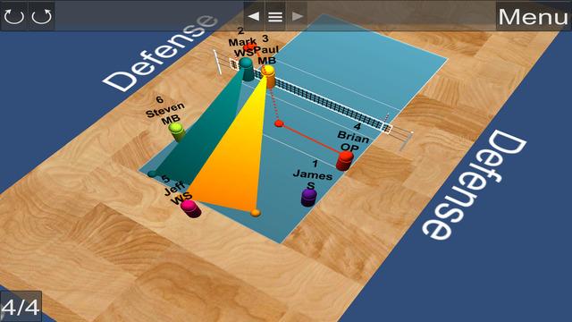Volleyball TactiX 3D