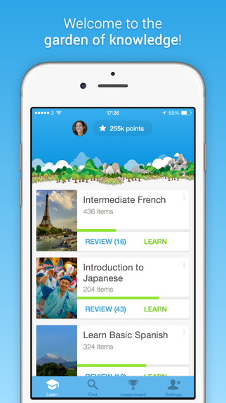 Memrise: Free Language Learning