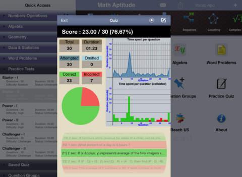 6 SAT Practice Tests (Math) iPad Screenshot 3