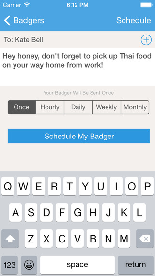 Badger - Remind Your Friends Family