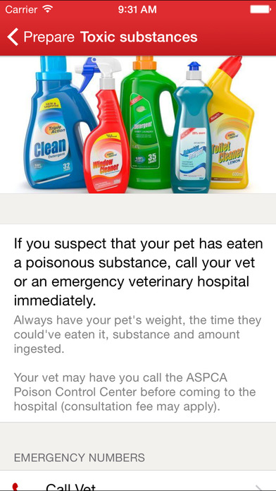 Pet First Aid by American Red Cross screenshot 3