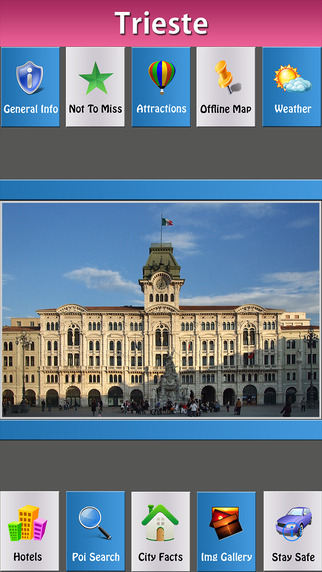 Trieste Offline Map Travel Guide