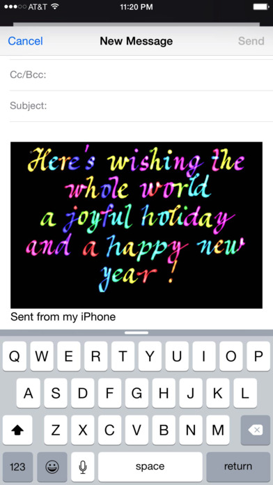 Use Your Handwriting iPhone Screenshot 5