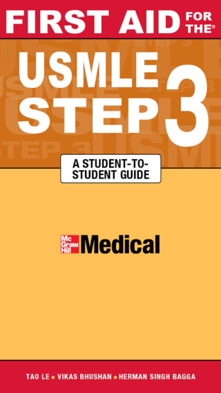 First Aid for the USMLE Step 3 3 E