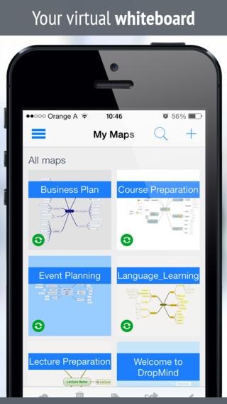 iMindQ Lite mind mapping Free Brainstorming app