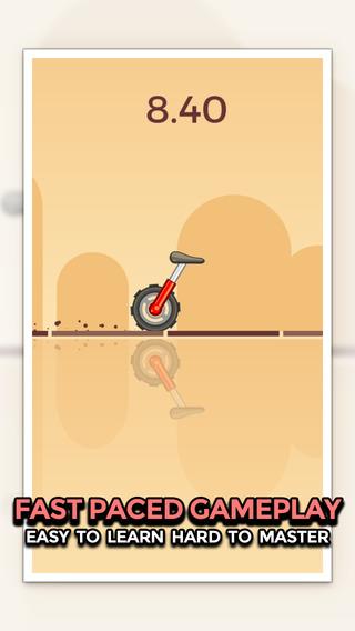 玩免費遊戲APP|下載Unicycle Rush app不用錢|硬是要APP