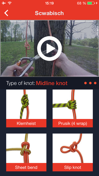 Knot Tying - Climbing Arborist. Video Instruction How to tie a Knot