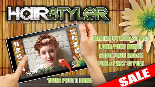 Virtual Hair Styler Hair Salon Designer iPad Version