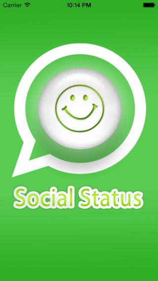 Social Status - For Social Massges