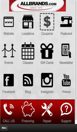 ALL BRANDS App